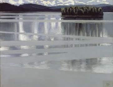 Akseli Gallen-Kallela Lac Keitele 1905