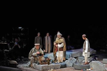 """Opéra de Lyon """"Terre et Cendres"""" Atiq Rahimi & Jérôme Combier"""