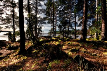 Lac Vättern, Suède, par K. Johansson (license creative commons)