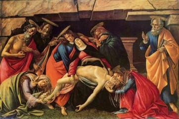 Lamentation de Sandro Botticelli (1490)