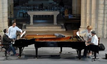 Festival de Saintes 2012, Neuburger & Heisser 1, par Michel Guérin