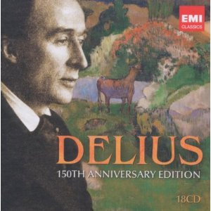 Delius 150th anniversary