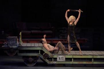 Anna Caterina Antonacci et Nikolai Schukoff  © Charles Duprat/Opéra national