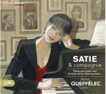 CD Mirare Satie et Cie Queffélec