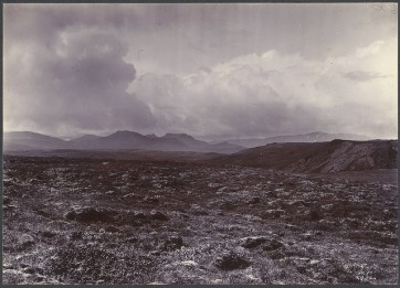 Photo : Hengill (Iceland), par Frederick W.W. Howell, Cornell University Library (ca 1900)
