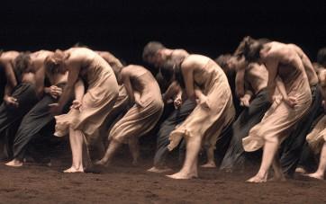 Le sacre du Printemps.Ensemble.(c)foto ulli weiss
