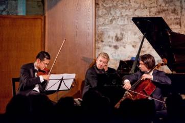 David Chan, Jean-Yves Thibaudet, Gautier Capuçon © Jean-Louis Bernuy