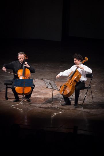 Edgar Moreau et Philippe Miller © Christophe Grémiot