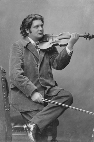 Portrait of Eugene Ysaye