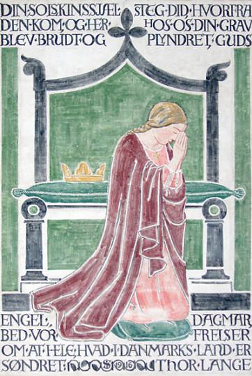 Dagmar, Reine du Danemark, église de Ringsted