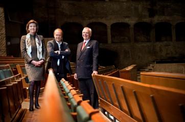 Helga Rabl-Stadler, Sven-Eric Bechtolf, Alexander Pereira © Luigi Caputo/Salzburger Festspieleto