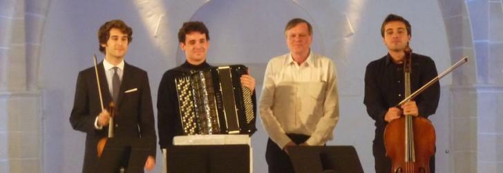Virgil Boutellis-Taft, Vincent Lhermet, Philippe Hersant, Dmitry Silvian (c) DR