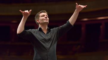 Répétition générale de l'Ensemble Intercontemporain dirigée par Matthias Pintscher, Théâtre des Champs-Elysées, Paris, 10.02.2013