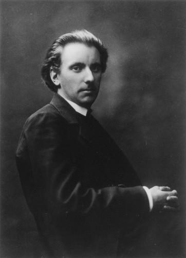 Rued Langgaard en 1918 -