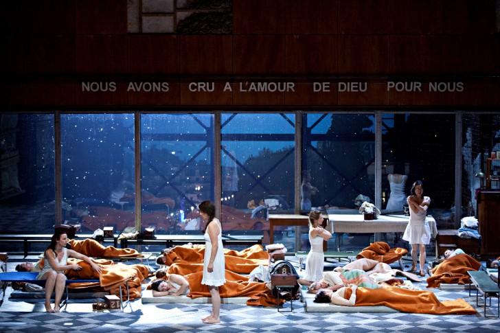 Poulenc, Dialogues des carmélites, photo 2, par Jean-Louis Fernandez