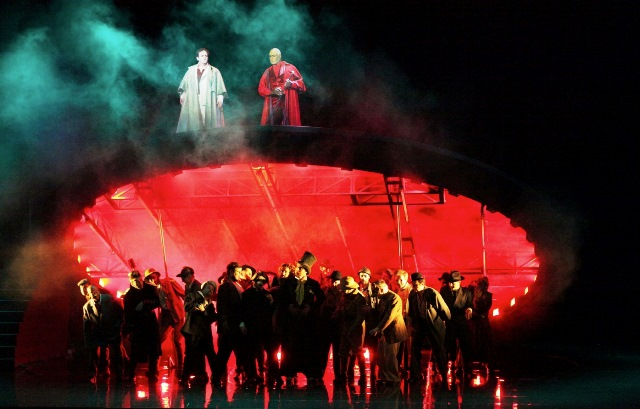 Damnation de Faust à l'Opéra de Rouen - photo Vincent Ferron