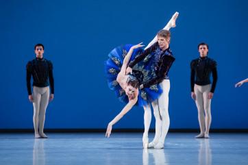 Le palais de cristal  /  George Balanchine  ,