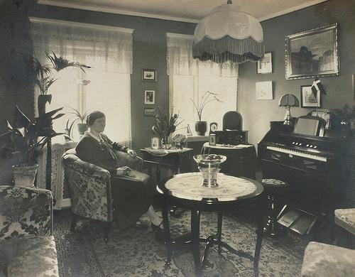 Intérieur danois dans les années 20