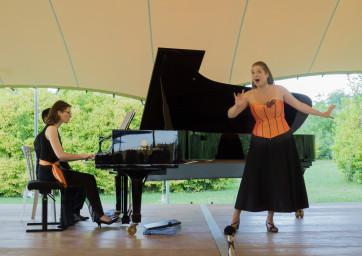 Marie Perbost et Flore Merlin