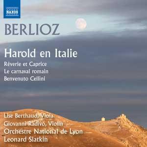 berlioz harold en italie  slatkin lyon naxos
