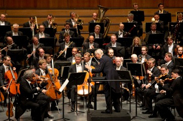 Herbert Blomstedt, Wiener Philharmoniker. Photo Salzburger Festspiele/Silvia Lelli