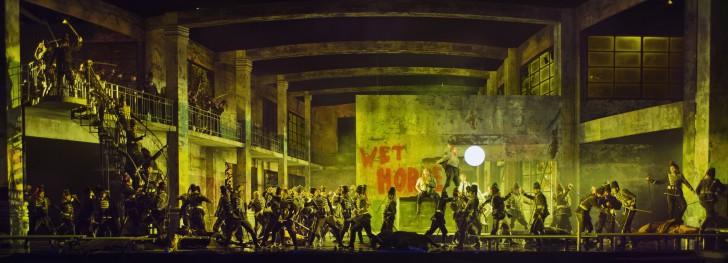 Scène uit Gurre-Lieder met Koor van De Nationale Opera en solisten)