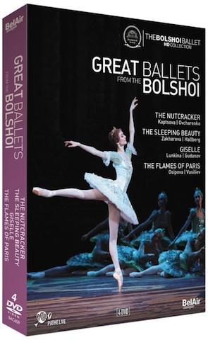 Coffret DVD Bolshoï
