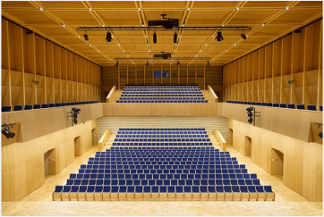 penderecki center concert hall