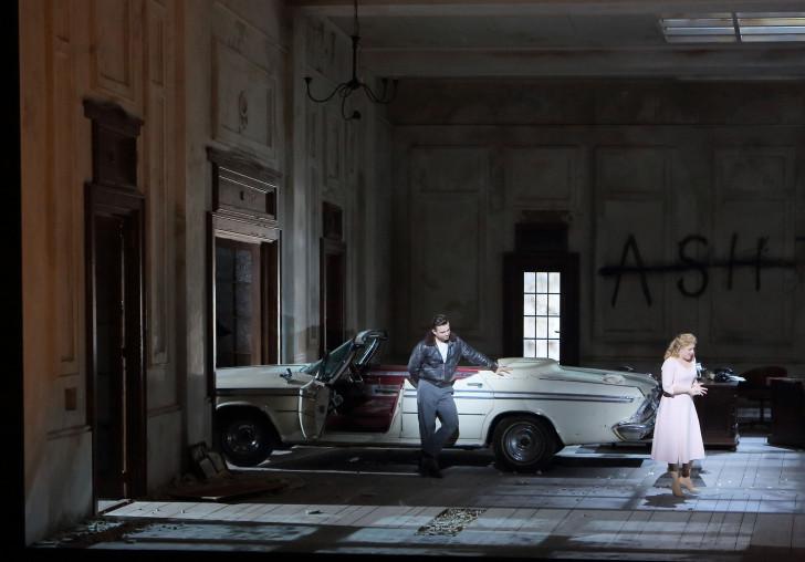 Lucia di Lammermoor, Opéra de Munich. Photo Wilfried Hösl