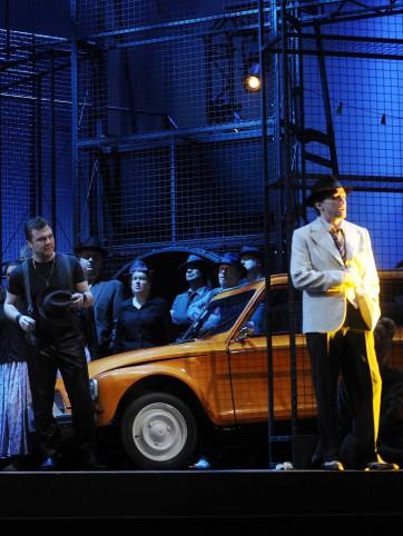 Opera, generale ALEKO. Nancy, FRANCE -04/02/2015