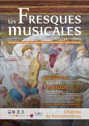 Affiche Fresques musicales