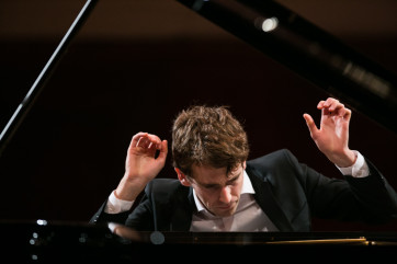 Olof Hansen au deuxième tour du Concours international Chopin de Varsovie (c) Wojciech Grzędziński