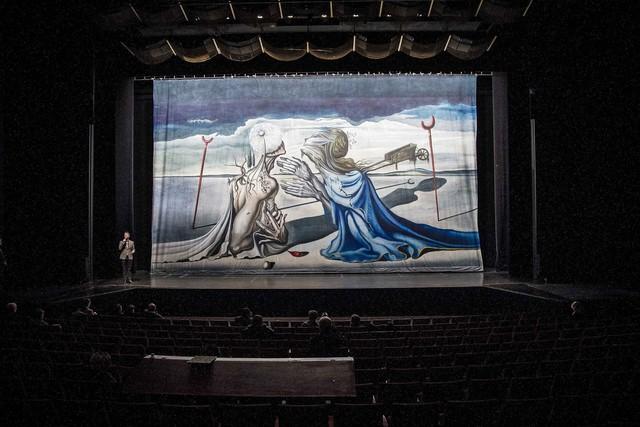 Reconstitution du ballet Tristan fou à Montréal en 2013 (© MaxPPP)