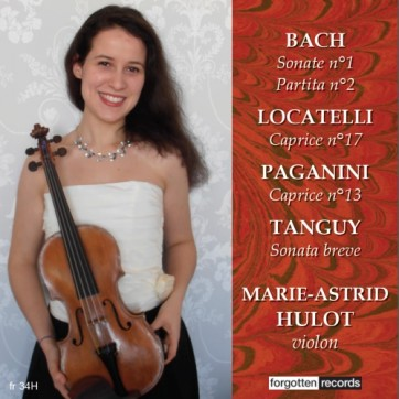 MARIE-ASTRID HULOT RECITAL front