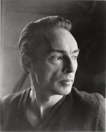 Portrait Balanchine cTanaquil Leclercq