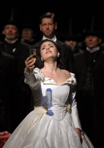 Formidable Traviata de Sonya Yoncheva à l'Opéra Bastille