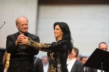 A Gstaad, Angela Gheorghiu en diva assoluta
