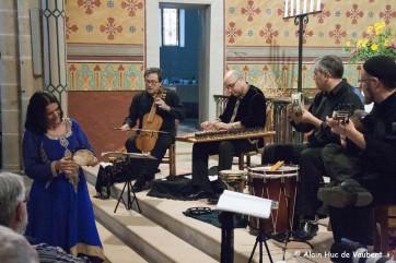 Chants de la diaspora Séfarade par La Capella de Ministrers.