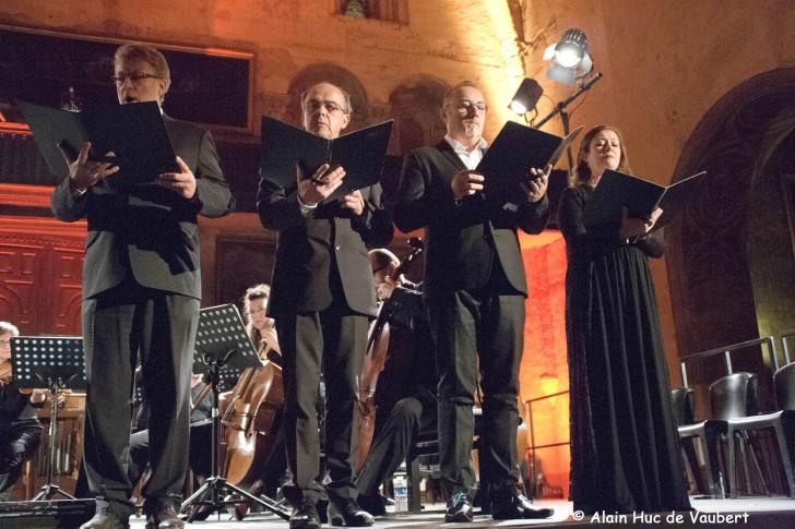 Un quatuor de solistes rompu au répertoire baroque.