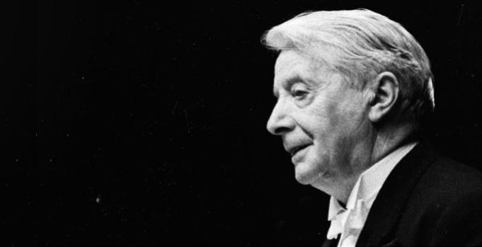Charles Munch, premier chef d'orchestre de l'Orchestre de Paris
