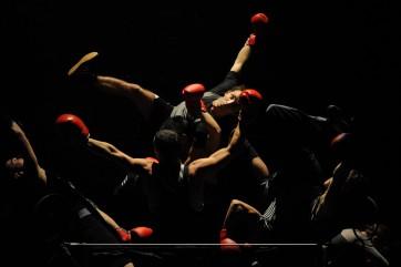 Le Boxe Boxe poétique de Mourad Merzouki