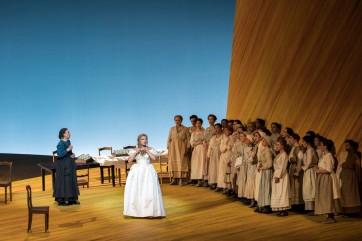 Anna Netrebko brille de tous ses feux en Tatiana à l'Opéra Bastille