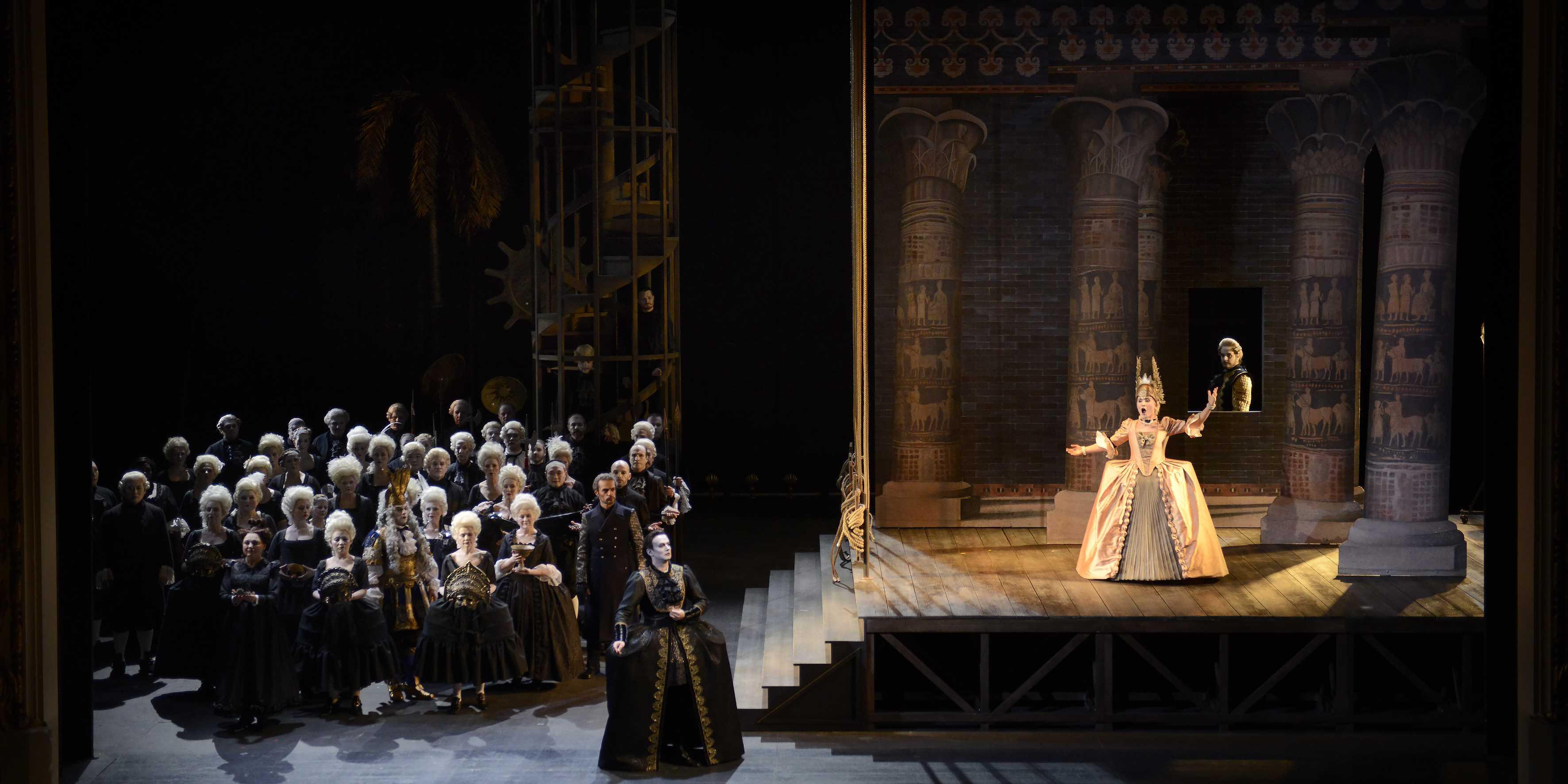 Opera National de Lorraine, SEMIRAMIDE. Nancy, FRANCE -28/04/2017