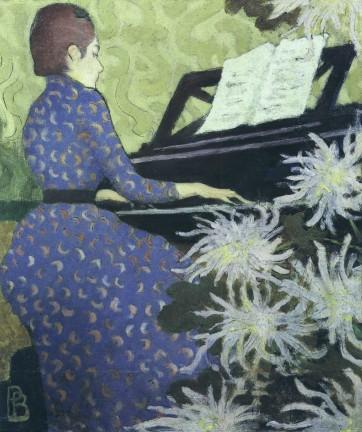 bonnard jeunes femme au piano