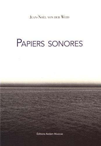 papiers sonores