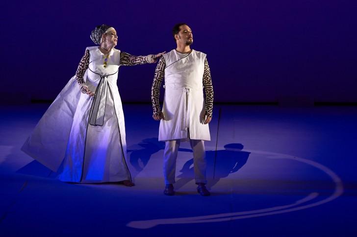 Anna Maria Chiuri et Stefano La Colla