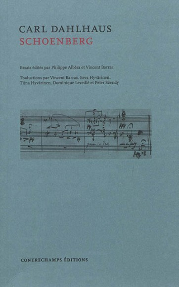 Arnold Schoenberg par Carl Dalhaus