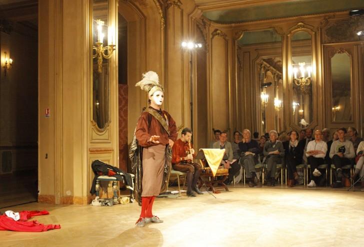 Hubert Hazelbroucq danse Julien Martin flute a bec Terpsichore 2017 photo Régis d'Audeville