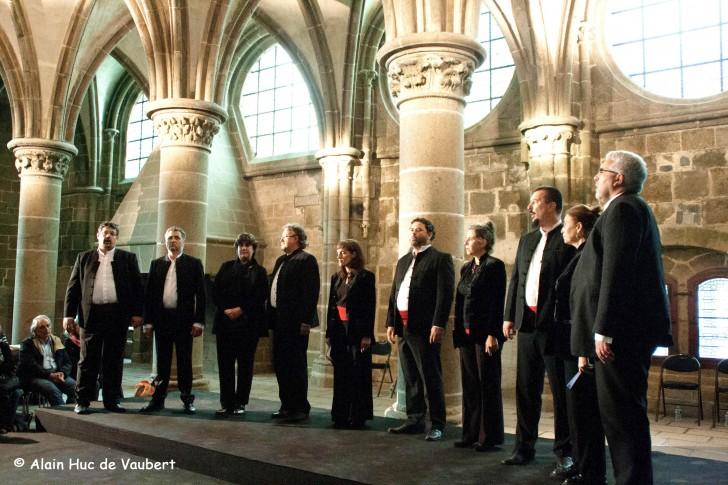 Chant à la salle des chevaliers