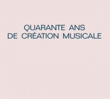 40 ans creation musicale
